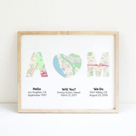 Initials Maps
