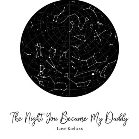 The night you became my daddy